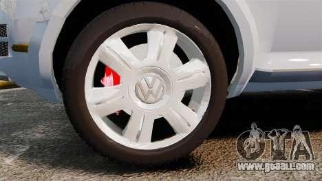 Volkswagen Touareg 2002 for GTA 4 back view