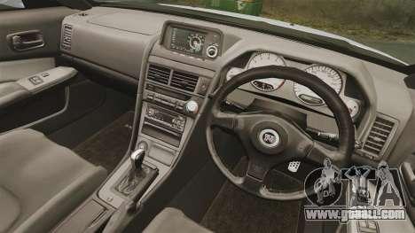 Nissan Skyline R34 for GTA 4 side view