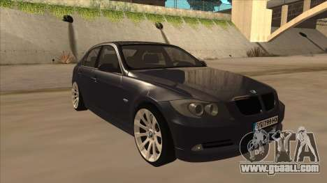 BMW 330 e90 for GTA San Andreas left view