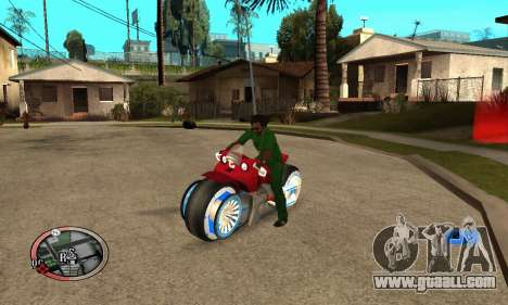 Tadpole Motorcycle for GTA San Andreas