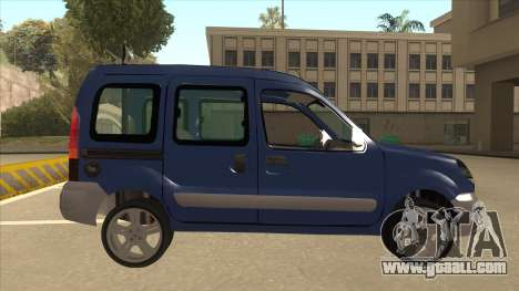 RENAULT KANGOO v2 for GTA San Andreas back left view