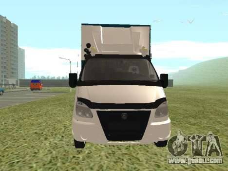 3302 Gazelle for GTA San Andreas left view