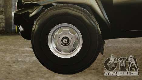 UAZ Patriot pickup for GTA 4 inner view