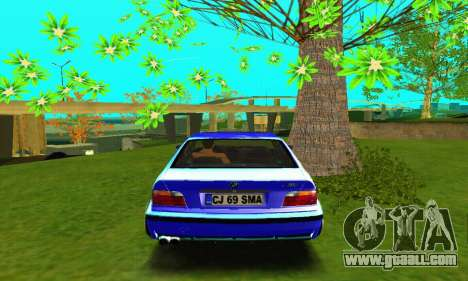 BMW E36 Low and Slow for GTA San Andreas right view