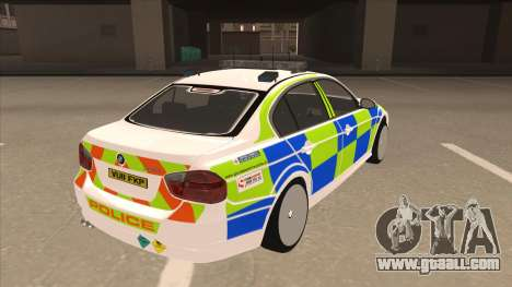 European Emergency BMW 330 for GTA San Andreas right view