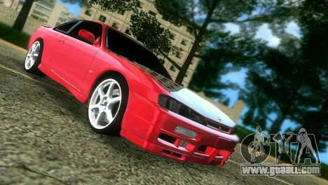 Nissan Silvia S14 Light Tuning for GTA Vice City back left view