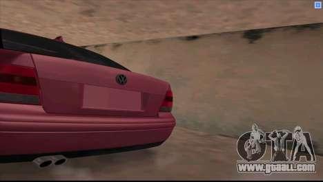 Volkswagen Bora V6 Stance for GTA San Andreas left view