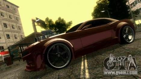 Chevrolet Camaro JR Tuning for GTA Vice City right view