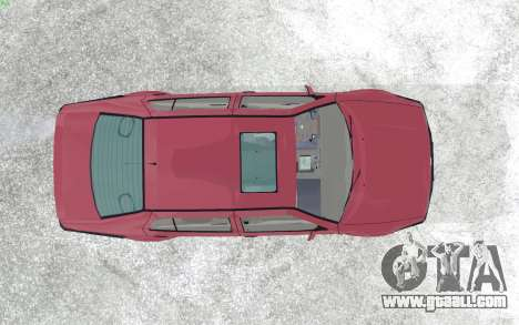 Volkswagen Vento for GTA San Andreas back view