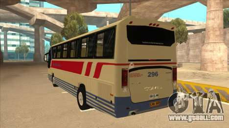 Davao Metro Shuttle 296 for GTA San Andreas back view