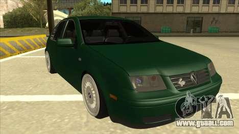 VW Bora for GTA San Andreas left view