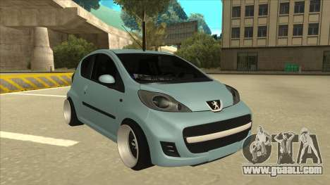 Peugeot 106 EuroLook for GTA San Andreas left view