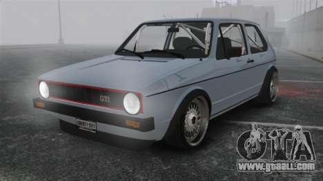 Volkswagen Golf MK1 GTI Update v1 for GTA 4