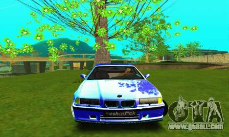 BMW E36 Low and Slow for GTA San Andreas inner view