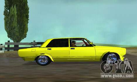 VAZ 2107 VIP for GTA San Andreas left view
