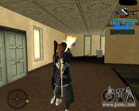 C-Hud for SA:MP for GTA San Andreas