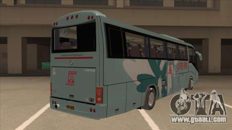 Higer KLQ6129QE - Super Fice Transport S 020 for GTA San Andreas right view