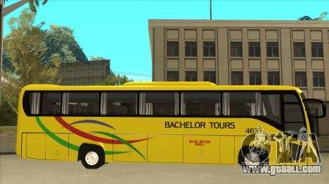 Kinglong XMQ6126Y - Bachelor Tours 463 for GTA San Andreas back left view