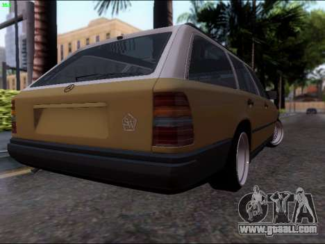 Mercedes-Benz E-Class W124 for GTA San Andreas back left view