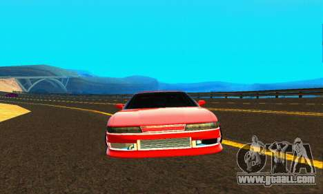 Nissan Silvia S13 HellaDrift for GTA San Andreas side view
