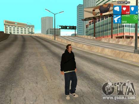 New KentPaul for GTA San Andreas