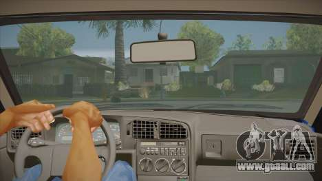 Volkswagen Passat B3 IVLM for GTA San Andreas inner view