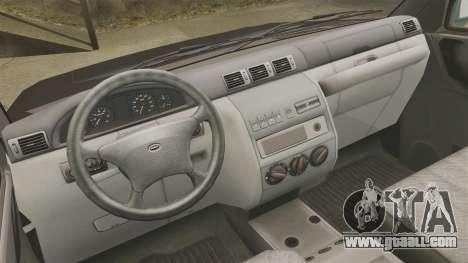 UAZ Patriot pickup for GTA 4 back view