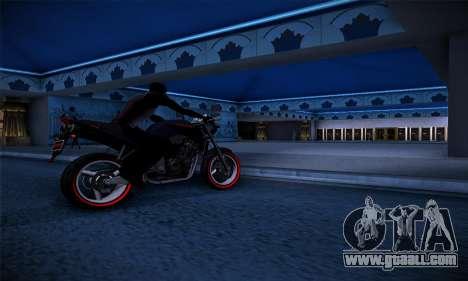 Ducati FCR900 2013 for GTA San Andreas right view