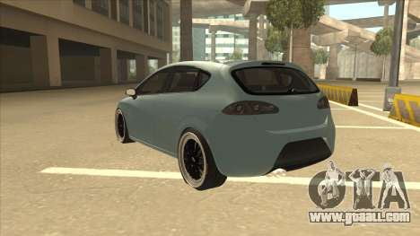 Seat Leon Clean Tuning for GTA San Andreas back view