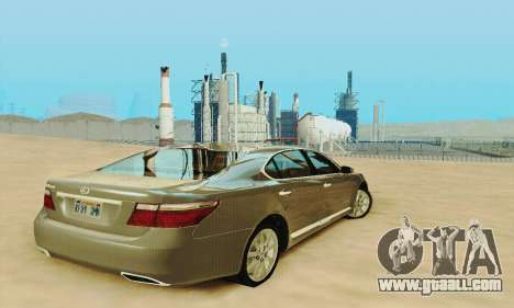 Lexus LS 600h L for GTA San Andreas side view
