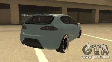 Seat Leon Clean Tuning for GTA San Andreas right view