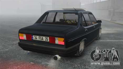 Fiat 131 for GTA 4 back left view