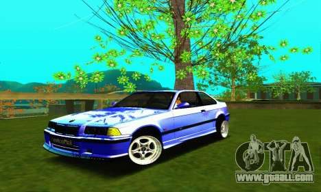 BMW E36 Low and Slow for GTA San Andreas