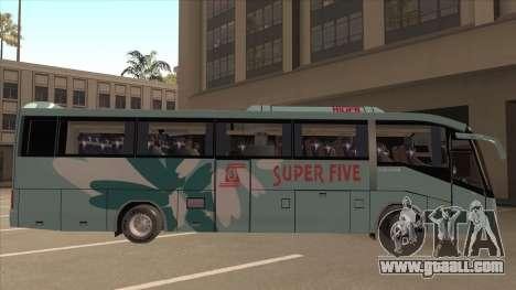 Higer KLQ6129QE - Super Fice Transport S 020 for GTA San Andreas back left view