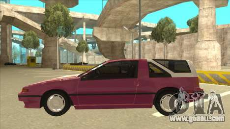 Nissan EXA L.A. Version for GTA San Andreas engine
