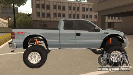 Ford F-150 EXT Off Road 2007 for GTA San Andreas back left view