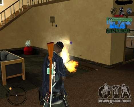 C-Hud for SA:MP for GTA San Andreas third screenshot