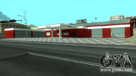 New garage in Doherty for GTA San Andreas
