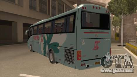 Higer KLQ6129QE - Super Fice Transport S 020 for GTA San Andreas back view