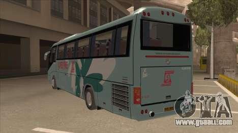Higer KLQ6129QE - Super Fice Transport S 020 for GTA San Andreas back view