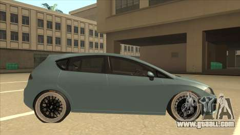 Seat Leon Clean Tuning for GTA San Andreas back left view