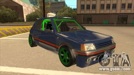 Peugeot 205 GTI for GTA San Andreas left view