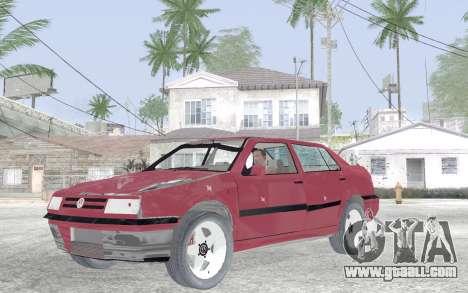 Volkswagen Vento for GTA San Andreas inner view