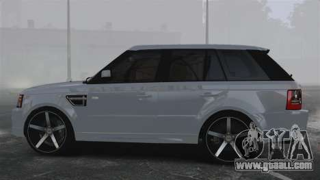 Range Rover Sport Autobiography 2013 Vossen for GTA 4 left view