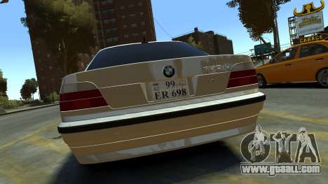 BMW 750iL for GTA 4 right view
