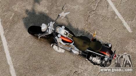 Harley-Davidson for GTA 4 back left view