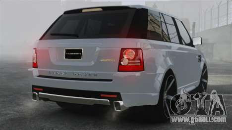 Range Rover Sport Autobiography 2013 Vossen for GTA 4 back left view