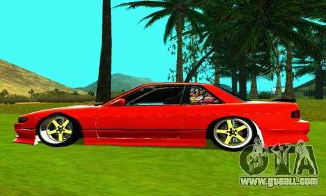 Nissan Silvia S13 HellaDrift for GTA San Andreas left view