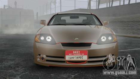 Hyundai Tiburon for GTA 4