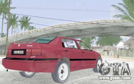 Volkswagen Vento for GTA San Andreas right view